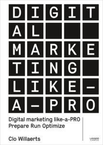 Digital marketing like a PRO - book cover